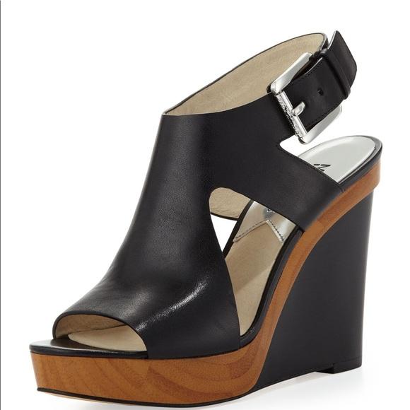 0a66c7e53afc Michael Kors Josephine Wedge Platform Sandals. M 5ad7b20b45b30ca927c4c7c2
